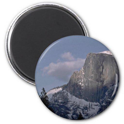 El paraíso de los escaladores de roca iman para frigorífico