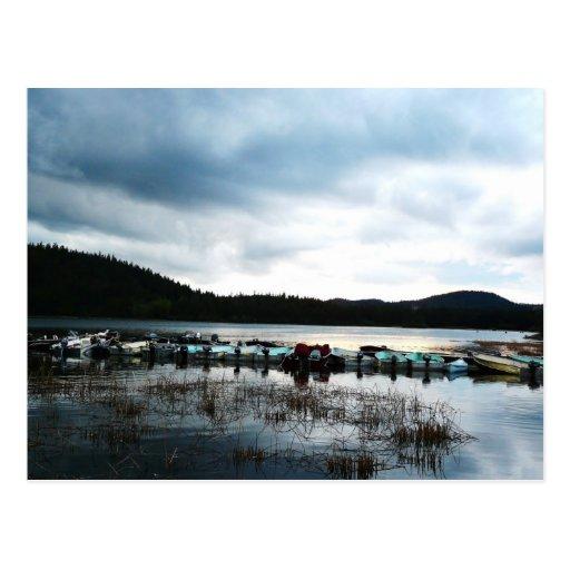 El paraíso del pescador tarjeta postal
