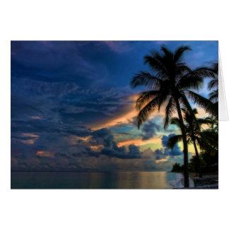 ¡El paraíso… es donde usted está! Tarjeta