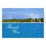 El paraíso le agradece tarjeta de felicitación