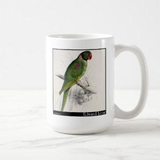 El Parakeet encapuchado de Edward Lear Taza De Café