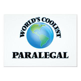 """El Paralegal más fresco del mundo Invitación 5"""" X 7"""""""