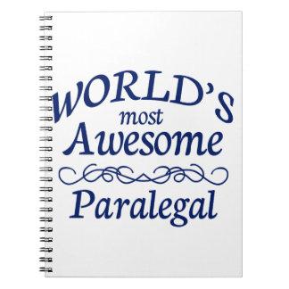 El Paralegal más impresionante del mundo Libreta