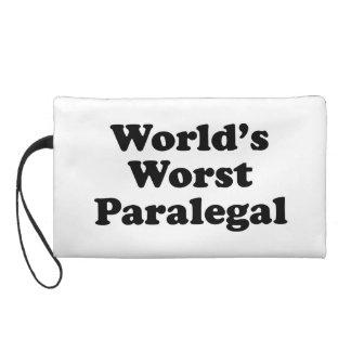 el paralegal peor del mundo