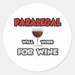El Paralegal… trabajará para el vino Etiqueta