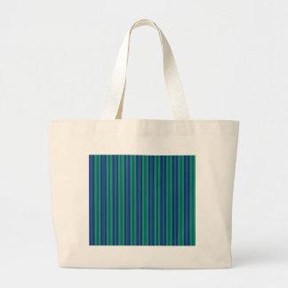 el paralelo alinea rayas azulverdes del modelo bolsas