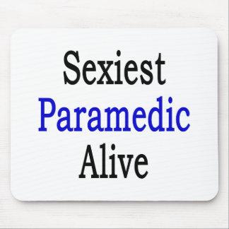 El paramédico más atractivo vivo alfombrilla de raton