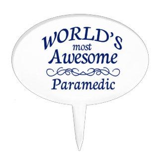 El paramédico más impresionante del mundo figuras para tartas