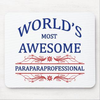 El Paraprofessional más impresionante del mundo Alfombrillas De Ratón