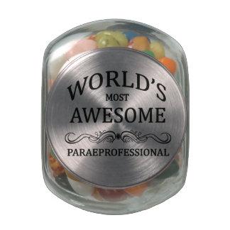 El Paraprofessional más impresionante del mundo Frascos Cristal