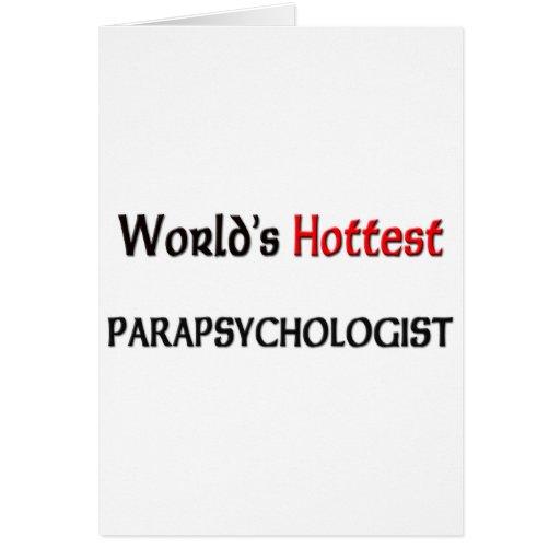 El Parapsychologist más caliente de los mundos Felicitaciones