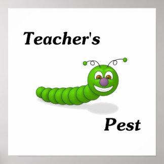 El parásito del profesor impresiones