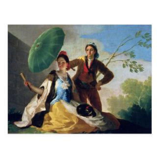 El parasol, 1777 postal