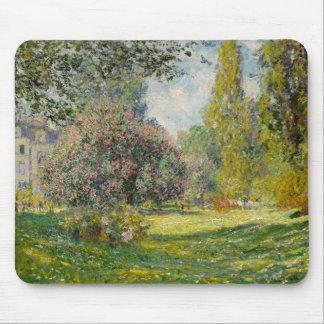 El Parc Monceau - Claude Monet Alfombrilla De Ratón