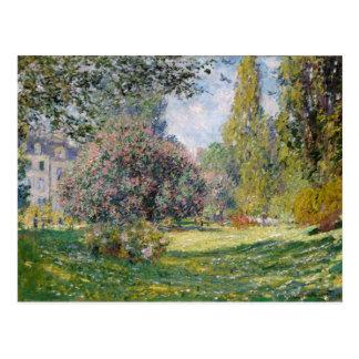 El Parc Monceau - Claude Monet Tarjetas Postales