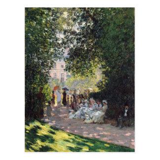 El Parc Monceau - Claude Monet Postales