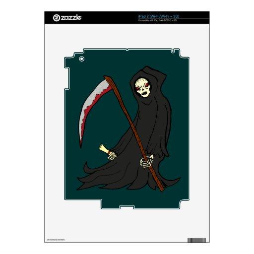 El parca - libro de monstruos - Halloween Calcomanía Para El iPad 2