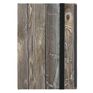 El parecer auténtico hermoso de madera iPad mini cárcasas