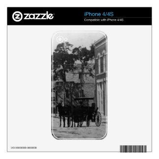 El parecer del oeste en la calle de Flagler Skin Para El iPhone 4