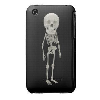 El parecer divertido esquelético Case-Mate iPhone 3 cárcasas