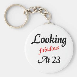 El parecer fabuloso 23 llavero personalizado