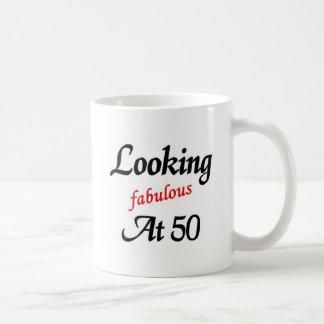El parecer fabuloso 50 taza básica blanca