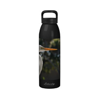 El parecer hecho excursionismo Egret blanco derech Botallas De Agua