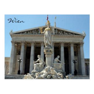 el parlamento Austria wien Postales
