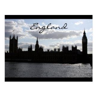 el parlamento contiene a ingleses tarjeta postal