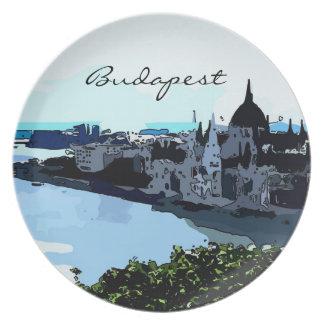 El parlamento de Budapest platea Platos Para Fiestas
