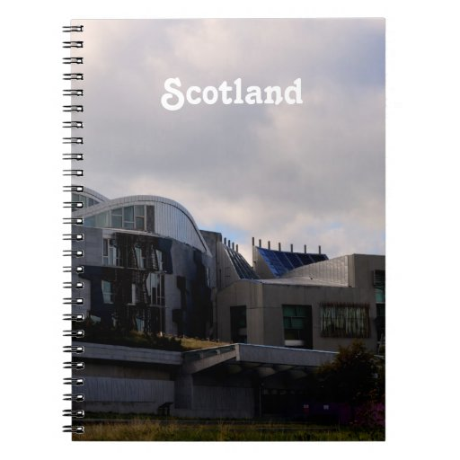El parlamento de Escocia Libro De Apuntes Con Espiral