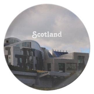 El parlamento de Escocia Plato Para Fiesta