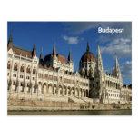 El parlamento de Hungría Tarjeta Postal