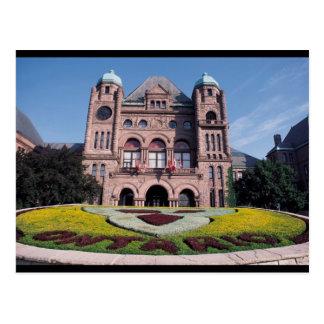 El parlamento de Ontario Postales