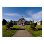 El parlamento de Victoria que construye 3 Tarjeta Postal