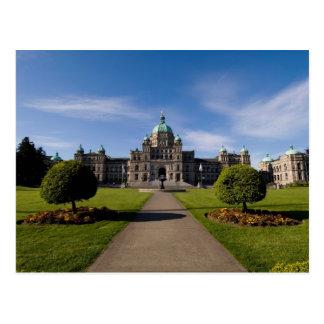 El parlamento de Victoria que construye 3 Tarjetas Postales
