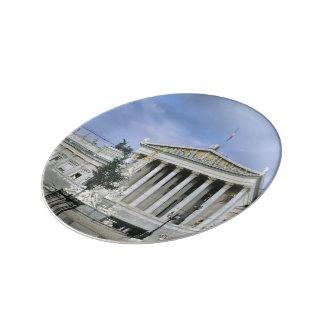El parlamento de Viena Platos De Cerámica