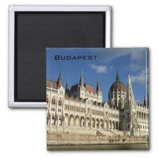 El parlamento húngaro imán cuadrado