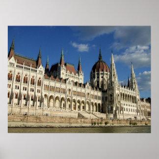 El parlamento húngaro posters