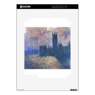 El parlamento, reflexiones en el Thames Claude iPad 2 Skin