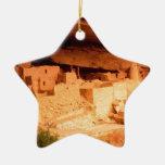 El parque Anasazi arruina Mesa Verde Colorado Adorno De Cerámica En Forma De Estrella