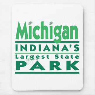 El parque de estado más grande de Michigan Indiana Tapetes De Raton