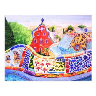El parque de Gaudi Tarjetas Postales