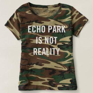 El parque del eco no es realidad - el camuflaje de poleras