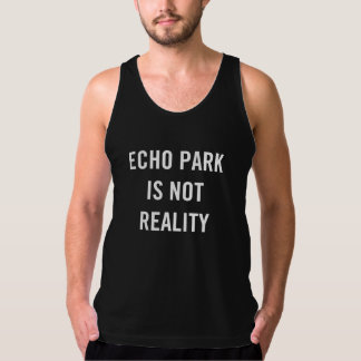 El parque del eco no es realidad - las camisetas playeras con tirantes