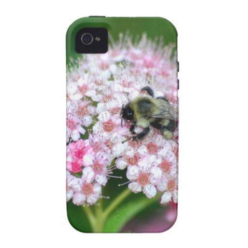 El parque florece arte floral de la diversión de l iPhone 4 fundas
