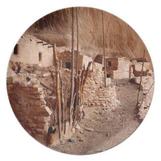 El parque Keet Seel el monumento de Navajo de las Plato De Cena