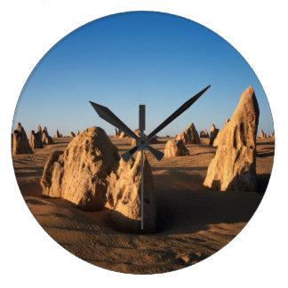 El parque nacional de Nambung del desierto de los Reloj Redondo Grande