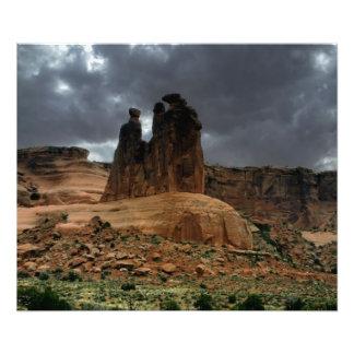 El parque nacional de tres arcos de los chismes fotografías