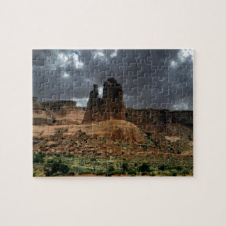 El parque nacional de tres arcos de los chismes puzzle